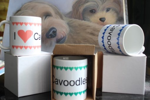 love cavoodle coffee mugs