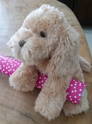 a cavoodle plush soft toy